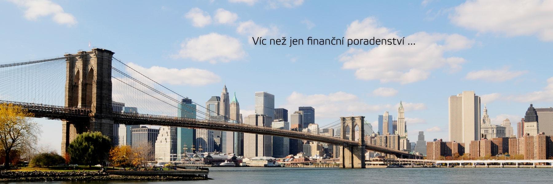 Víc než jen finanční poradenství...